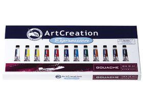 ArtCreation Expression Gouache 12 x 12ml Set