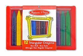 Melissa & Doug Triangular Crayon Set - 12 Piece