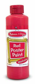 Melissa & Doug Poster Paint - Red