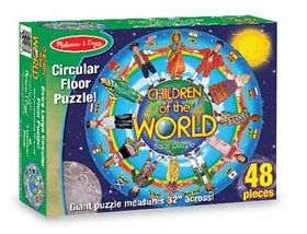 Melissa & Doug Children Around the World - 48 Piece