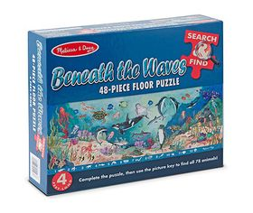 Melissa & Doug Search and Find Beneath the Waves - 48 Piece