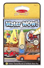 Melissa & Doug Water Wow - Vehicles