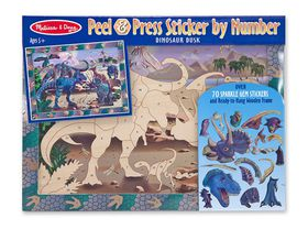 Melissa & Doug Sticker by Number - Dinosaur