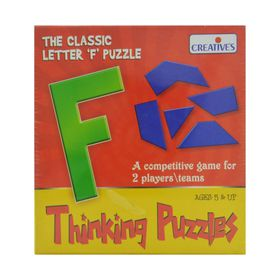 Creatives Toys Thinking Puzzles - Letter F