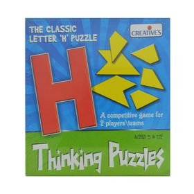 Creatives Toys Thinking Puzzles - Letter H