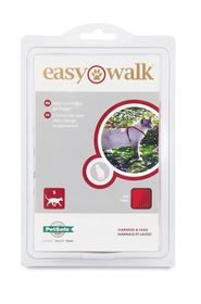 Easy Walk - Cat Harness And Collar - Red - Small