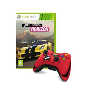 official xbox 360 wireless red chrome controller forza. Black Bedroom Furniture Sets. Home Design Ideas