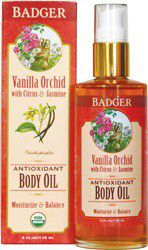 Badger Vanilla Orchid Antioxidant Body Oil - 112 Grams