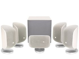 Bowers and Wilkins MT-50 Speaker Package - White