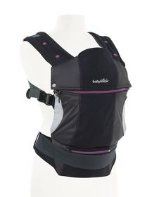 Babymoov - Anatomical Baby Carrier Black/Hibiscus