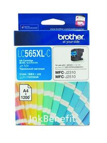 Brother LC565XLC Cyan High Yield Ink Cartridge