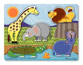 Melissa & Doug Zoo Touch and Feel