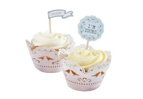 Ginger Ray - Cupcake Wraps - Pack Of 10
