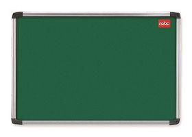 Nobo Elipse Felt Notice Board 600mm x 900mm - Green