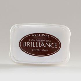Tsukineko Brilliance Ink Pad - Coffee Bean