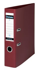 Donau Lever Arch File A4 75mm - Burgundy