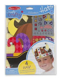 Melissa & Doug Simply Crafty - Adventure Hats