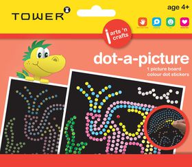 Tower Kids Dot-A-Picture - Elephant