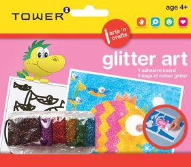 Tower Kids Glitter Art - Fish