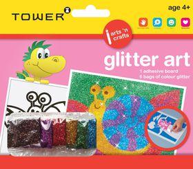 Tower Kids Glitter Art - Snail