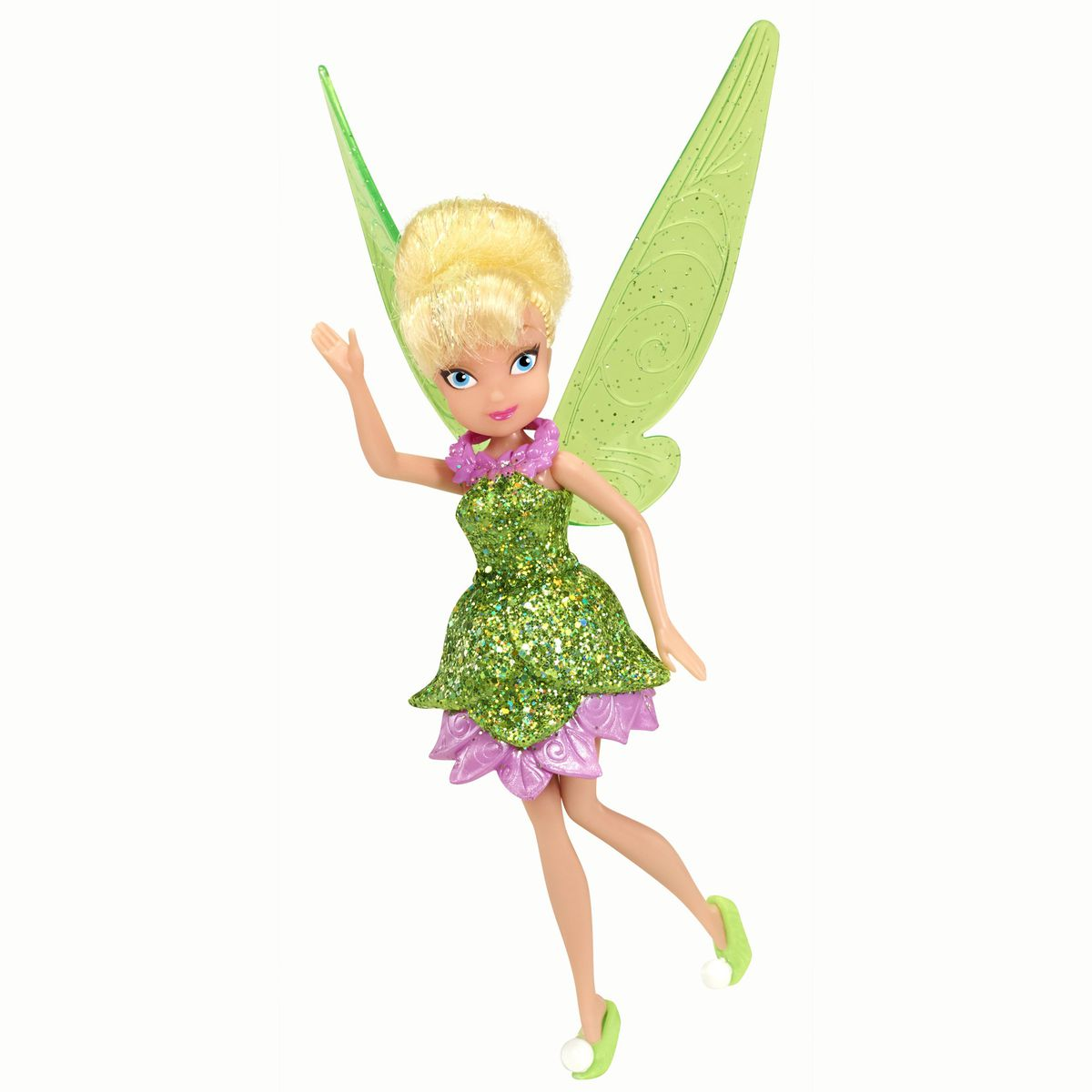 Disney fairies neverbeast basic fairies sparkle collection for Tinkerbell fairy door