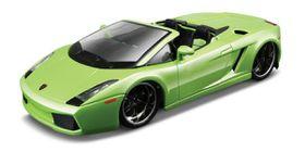 Bburago 1/32 Lamborghini Gallardo Spyder - Street Tuners - Green