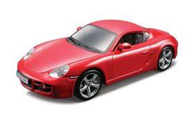 Bburago 1/32 Porsche Cayman S - Street Fire - Red