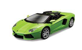 Maisto 1/24 Lamborghini Aventador LP700-4 Roadster Kit - Green