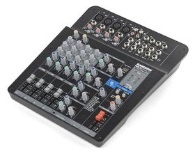 Samson MixPad MXP124FX Compact 12-Channel Analog Stereo Mixer with Effects and USB