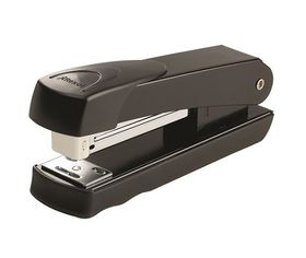 Rexel Meteor Half Strip Metal Stapler - Black