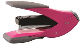 Rexel Easy Touch Half Strip Metal Stapler - Pink