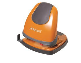 Rexel Easy Touch ET230 2 Hole Punch - Orange