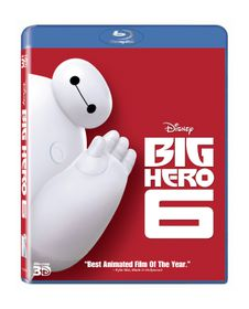 Big Hero 6 (3D & 2D Blu-ray)