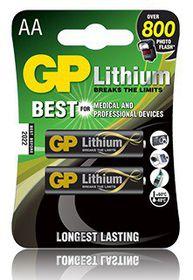 GP Batteries AA Lithium Batteries
