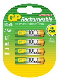 GP Batteries 1.2V AAA 950 NiMH Rechargeable Batteries