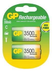 GP Batteries 1.2V C 3500 mAh NiMH Rechargeable Batteries