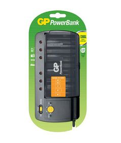 GP Batteries 320 Powerbank 320 Universal Battery Charger