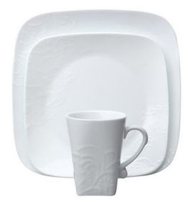 Corelle - Boutique Cherish Embossed 16 Piece Dinnerware Set