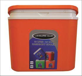 LeisureQuip - 10 Litre Hardbody Cooler - Orange