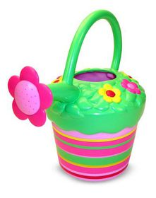 Melissa & Doug Blossom Bright Watering Can