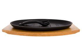 Eetrite - Steak Platter On Wood - 27.5 cm