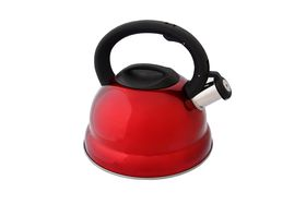 Eetrite - Stainless Steel Stove Top Kettle - Red