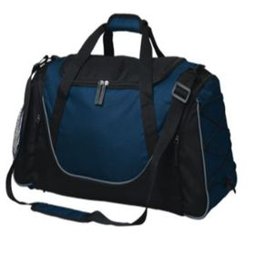 Eco Matrix Duffel Bag - Navy & Black