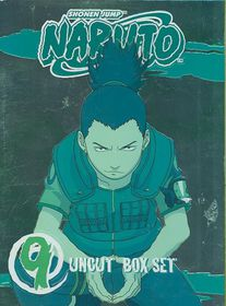 Naruto Uncut Box Set 9 Special Editio - (Region 1 Import DVD)