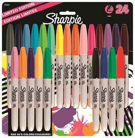 Sharpie 24 Fine Point Permanent Markers