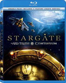 Stargate:Ark of Truth/Stargate:Continuum - (Region A Import Blu-ray Disc)