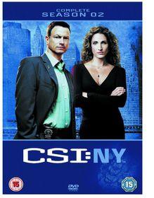 CSI New York Complete Season 2 (DVD)