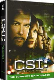 CSI Vegas: Crime Scene Investigation Complete Season 6 (DVD)