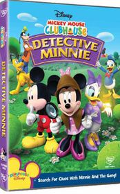 Mickey Mouse Clubhouse Detective Minnie (DVD)