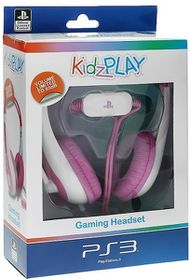 KidzPLAY Stereo Gaming HeadSet - Pink (PS3)